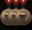 USPA Triple Bronze Medals
