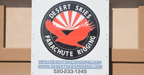 Desert Skies Parachute Rigging at Skydive Arizona 5