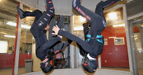 Skyventure Arizona wind tunnel: VFS team flying