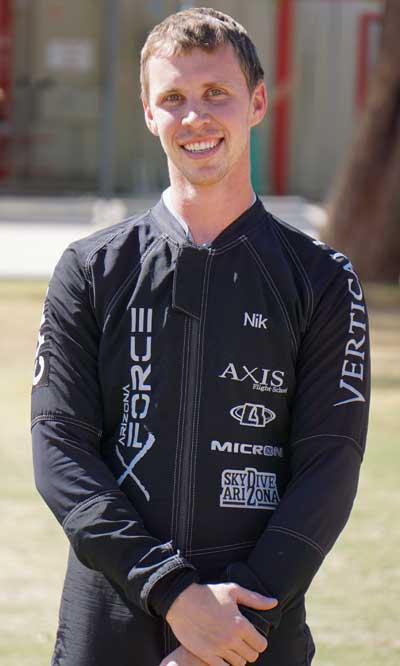 Mike Bougher of VFS Team Arizona X-Force