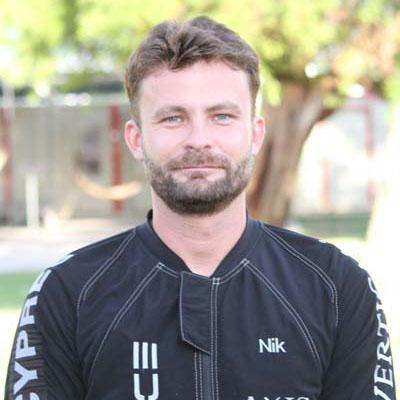 Niklas Daniel of VFS Team Arizona X-Force